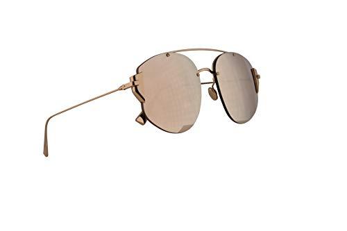 Christian Dior DiorStronger Sunglasses Gold w/Gold Mirror Lens 58mm J5GSQ Stronger