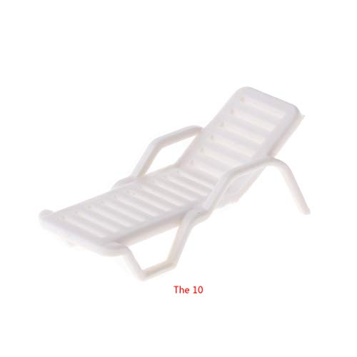 JAGENIE 1:100 Model Train Railway Leisure Chair Settee Bench Scenery Layout HO Scale Toy (Benches Ho Scale)