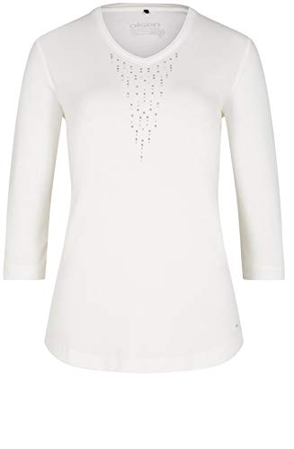 Jersey Olsen Top Bianco White Off qTaEwX