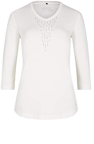 Bianco Top White Jersey Off Olsen 0wnPOvf5f