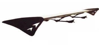 "JSP A2001 55"" Aluminum Single Plate Non-Adjacent Spoiler Wing"