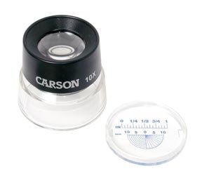 Carson Optical LumiLoupe Magnifiers; 7X stand magnifier; 3.95 oz. (Lumiloupe Stand Magnifiers)