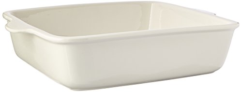 Dish Square Baker (Maxwell and Williams Basics Square Baker, 11.5-Inch, White)