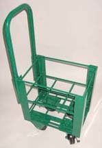 FWF HEAVY DUTY OXYGEN CART HOLDS UP TO 6 ( D, E OR C STYLE) CYLINDERS DIAMETER OF 4.3'' MADE IN USA