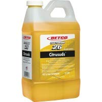 Betco(R) Symplicity(TM) Citrusuds(TM) Concentrated Pot Pan Detergent, Citrus Floral Scent, 2 Liter, Case Of 4 -  21094700