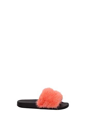 Pantofole Pelliccia E arancione be08209806 Givenchy Zoccoli Donna Uk ZqrwZgI