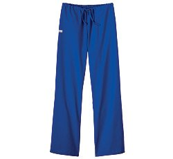 White Swan Flare Leg Pant (Fundamentals by White Swan Women's Drawstring Flare Leg Scrub Pants XXXXX-Large Galaxy Blue)