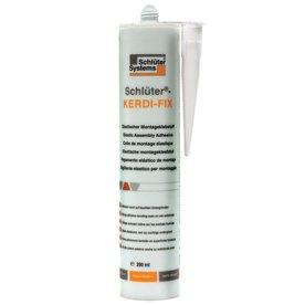 Schluter Systems KERDI FIX Sealing & Bonding Compound (100 ml/290 ml) (290 ml Cartridge White (Bonding Compound)