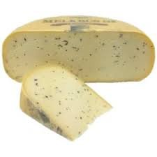 Cheese ~ Farmstead raw Gouda with Black Truffles Melkbus (Approx 2.5lb cut) from - Gouda Holland