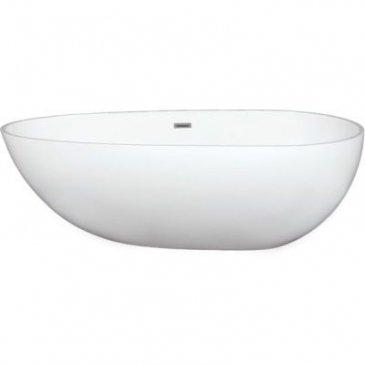 Americh Rc2207gw Narita Gloss White Freestanding Tub