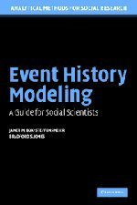 Event History Modeling by Box-Steffensmeier, Janet M., Jones, Bradford S.. (Cambridge University Press,2004) [Paperback]