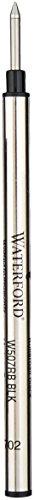 Waterford Rollerball Pen Refills - Black Medium 2 Pack ()