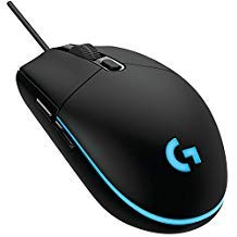Logitech G102 IC PRODIGY Gaming Mouse Optical 6,000DPI, 16.8M Color LED Customizing, 6 Buttons -International Version- Bulk Package