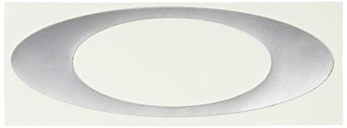 """Oakley Unisex-Adult Icon Sticker Silver 5.5"""" Replacement Lenses, SIlver"""