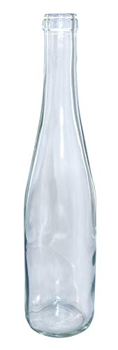 375 ml Renana Flint/Clear Stretch Hock, Cork Finish Case Of 12