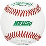 (Diamond Dol-1 Nfhs Official League Leather Baseballs 12 Ball Pack)