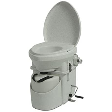Nature S Head Dry Composting Toilet With Standard Crank Handle