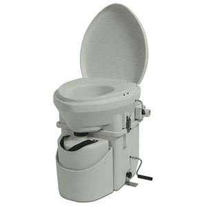 installing an rv portable composting toilet