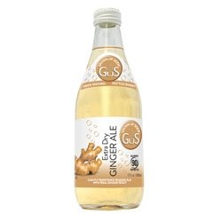 GUS Soda Extra Dry Ginger Ale 12 Oz (12 Pack)