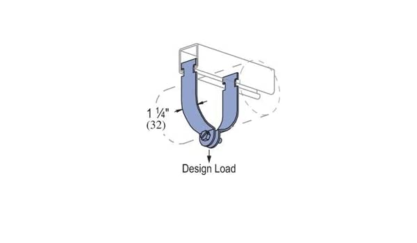 Genuine Unistrut P1430-EG 1-1//2 Thin Wall Conduit Pipe Strut Clamp for All 1-5//8 Strut Channels EMT