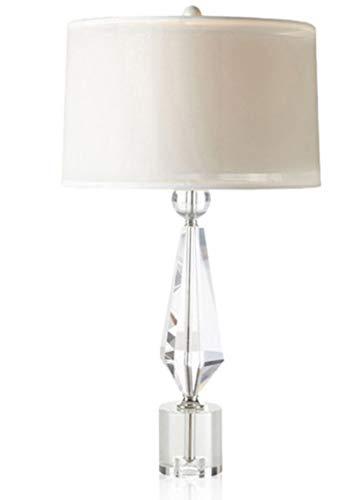 xiadsk Lámpara de Mesa de Cristal, Sala de Estar, Dormitorio ...