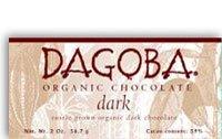 Dagoba Organics Chocolate Dark 59% -- 2 (59% Organic Dark Chocolate)