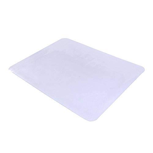 (Binlin Office Chair Mat,PPVC Dull Polish Chairmat Protection Floor Mat 90x120x0.15cm Rectangular for Office and Home Hardwood Anti-Slip Thin Desk Floor Protective Mats)