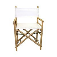 Chair Bamboo Director Low Natural/Qty 2 by Bamboo