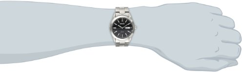 Seiko Men's SNE039 Stainless Steel Solar Watch