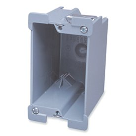Single Gang In-Wall Junction Box  sc 1 st  Amazon.com & Single Gang In-Wall Junction Box - Electrical Boxes - Amazon.com Aboutintivar.Com