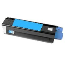 Lovetoner Compatible replacement for OKIDATA 43034803 Laser Toner Cartridge Cyan 43034803 Cyan Laser Toner