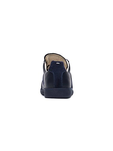 MAISON MARGIELA Sneakers Uomo S57WS0175SY0644470 Pelle Blu