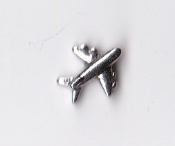 Airplane Floating Charm (Airplane Floating Locket Charm)