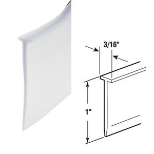 Superior Clear Framed Shower Door Replacement Sweep And Seal   36 In Long