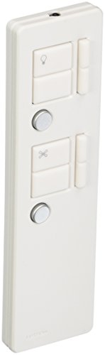 - Lutron Maestro IR Fan/Light Remote Control, MIR-ITFS-LF-WH, White
