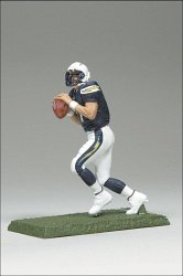 McFarlane Toys NFL 3 Inch Sports Picks Series 7 Mini Action Figure Phillip Rivers (San Diego Chargers) Mcfarlane Nfl Picks