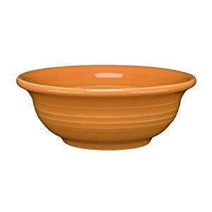 Homer Laughlin 325-1489 Fruit/Salsa Bowl, Tangerine