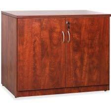 Lorell LLR69611 Essentials Series Laminate Accessories, Cherry