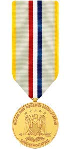 Medals of America National Guard and Reserve Mobilization Commemorative Medal Miniature Anodized