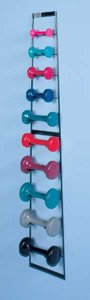 Wall Mounted Dumbbell Rack by HealthMegaMall
