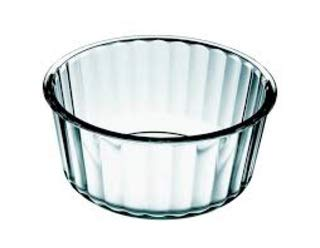Simax Glassware 2 Quart Glass Soufflé Dish   Borosilicate Glass, Microwave and Dishwasher Safe, Measures 7.8'' x 3.5'' by SIMAX