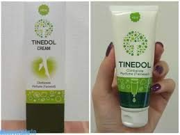 Russian Tinedol cream for skin legs against nail fungus and smell by Tinedol