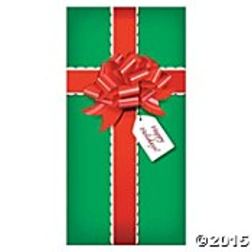 christmas presentgift door banner holiday decorationdecor36 x 72
