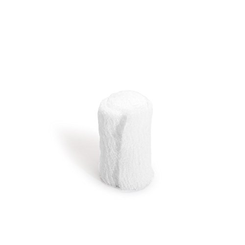 MediChoice Gauze Roll Bandage, 8-Ply, Sterile, Hypoallergenic, 4.5x3.1 Yards, White, 1314GZBN5001 (Case of 100)