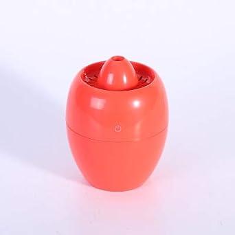 Purificador de aire rojo Humidificador ultrasónico USB modelado ...