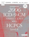 Saunders 2007 ICD-9-CM, Vols. 1, 2 and 3 and HCPCS Level II, Buck, Carol J., 1416001409