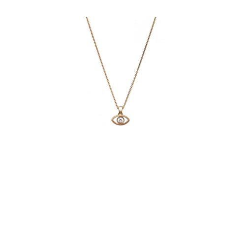 ARMS PENDANT 18K ROSE GOLD AND DIAMOND 797863-5001 (Chopard Diamond Necklace)
