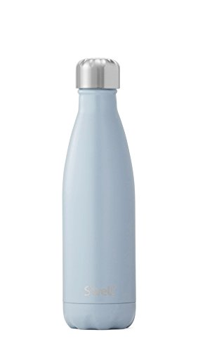 17 Oz Beverage Bottle (S'well Vacuum Insulated Stainless Steel Water Bottle, 17 oz, Shadow)