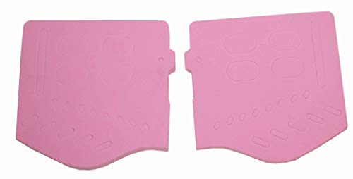 Trinity Soft Ear pair pink Replacements for Jt Goggles, Jt Spectra jt proflex