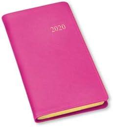 2019 Gallery Leather Monthly Weekly Pocket Planner Agenda Calendar Pink